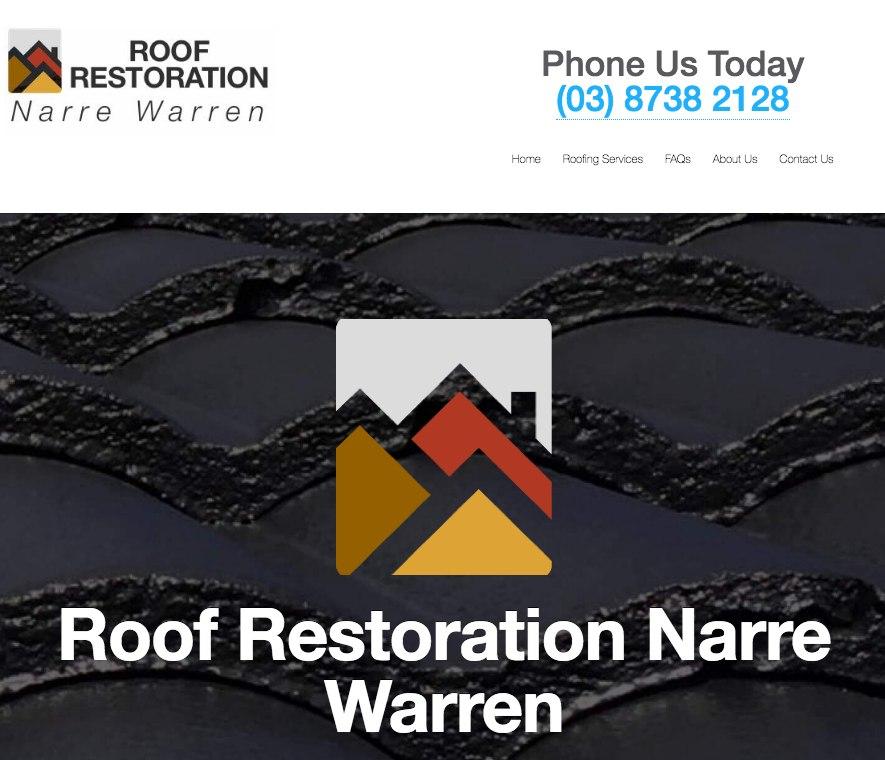 Roof Restoration Narre Warren Screenshot
