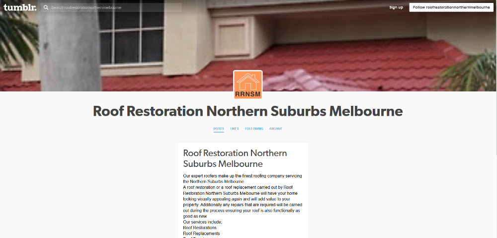 roofing example north melbourne
